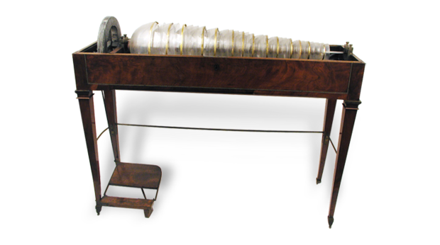 BBC - A History of the World - Object : Glass Armonica